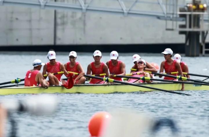 中国赛艇创奥运最佳战绩,记者现场采访山东选手