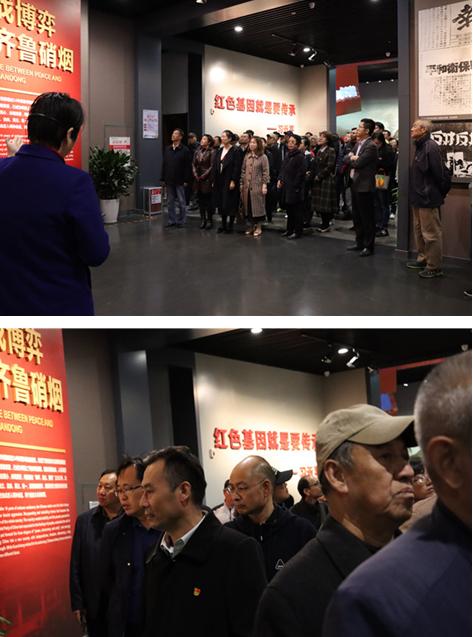 山东省济南第一中学组织党员前往济南战役纪念馆接受革命传统教育
