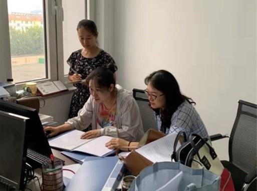 必威betway市疾控中心对商河县艾滋病防治数据质量评估工作进行督导检查