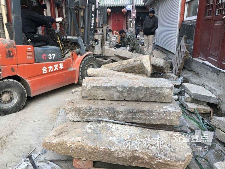 4000多块老青石板铺设430多米长芙蓉街