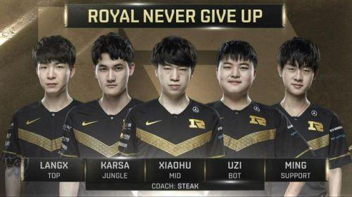 RNG止步16强 赛后小虎现身粉丝群表示不会退役