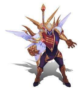英雄联盟新皮肤:未来战士锤石和胜利系列剑魔欣赏