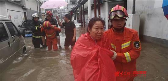 淄博:两天一夜,消防员救援现场过家门而不入