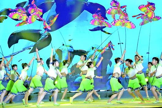 一场体育的盛会 山东省第十届全民健身运动会在潍坊举行