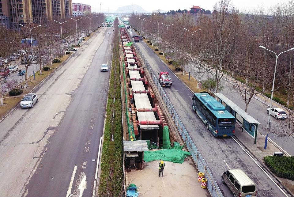 党杨路改造提升工程启动