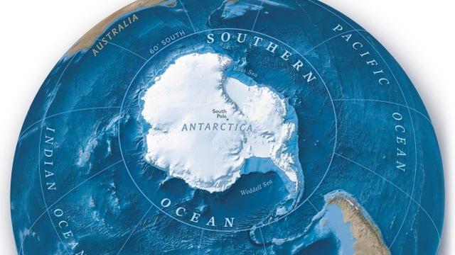 美国家地理学会宣布世界第五大洋 命名南大洋