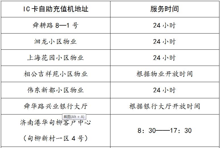 交燃气费不用再跑腿!济南港华新增7台燃气自助充值机