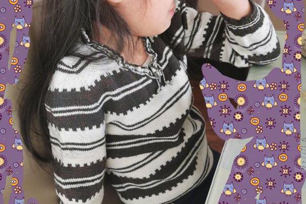 马伊琍传家毛衣,自身穿完女儿穿,其实的确太有爱了