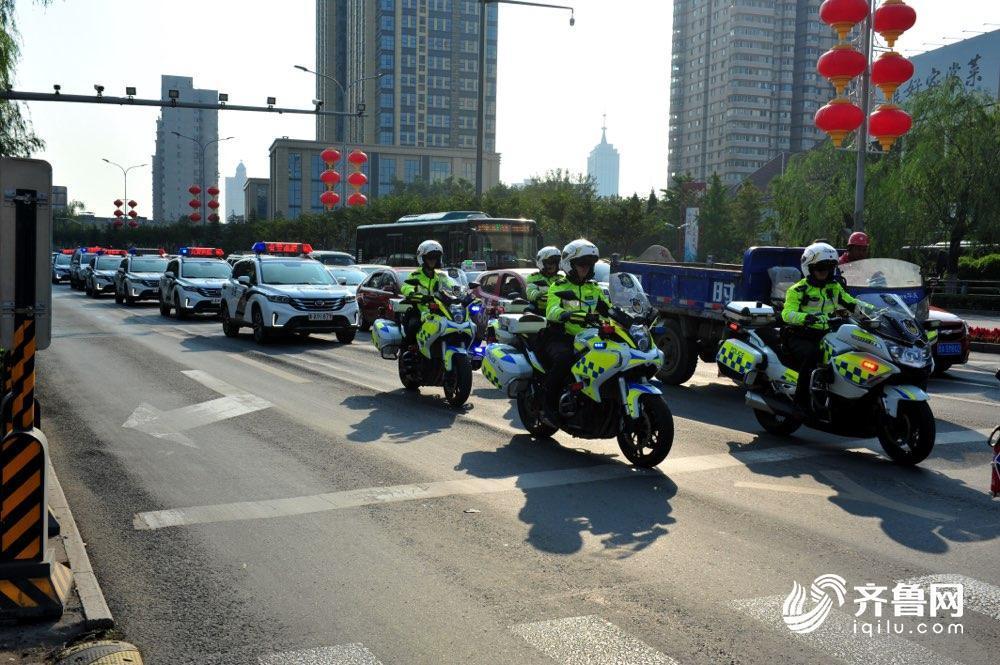 国庆假期首日济南道路交通安全形势平稳有序 各大景区将迎高峰