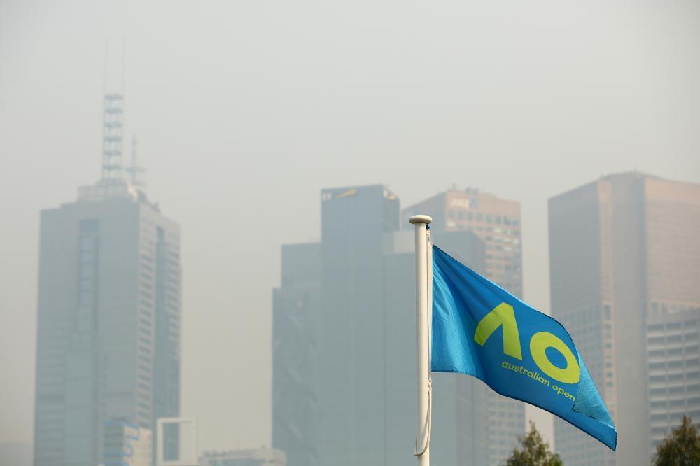 污染情况严重!澳网资格赛受雾霾影响