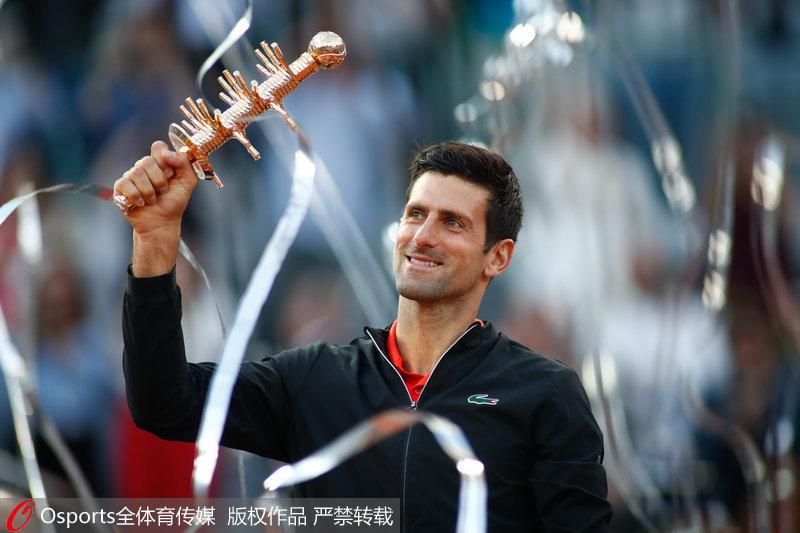 ATP马德里大师赛 德约科维奇2-0胜西西帕斯夺冠