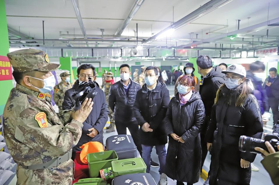 向1万个家庭发放人防战备应急包 此举为2020年济南市政府为民办23件实事之一