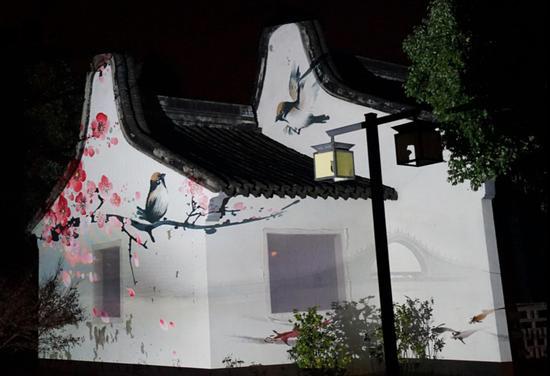 泉城之夜·中国文旅灯光最新创意济南秀:一盏灯留住一群游客