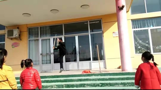 弘扬传统文化 济阳区实验幼儿园进行鼓子秧歌比赛