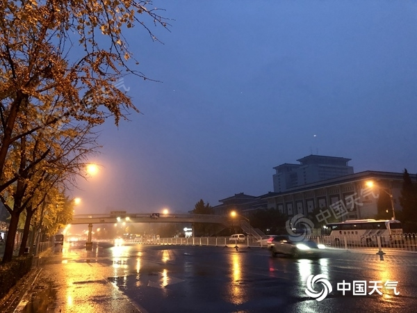 风雨交加!北京今天降雨将持续整天 阵风可达7级