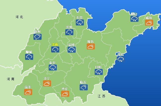 高温黄色预警持续!山东这7市最高气温超35℃
