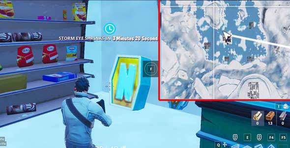 堡垒之夜零售商店的NOMS标志位置介绍:玩家必看