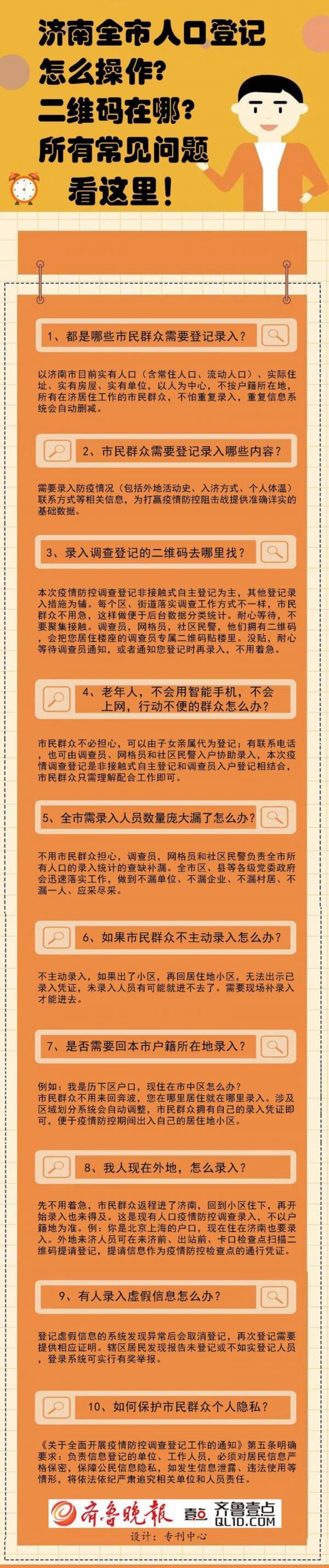 济南全市人口登记怎么操作?哪些人需要登记?你想知道的都在这里