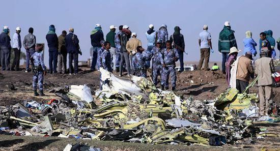 法国成功提取埃航黑匣子数据 转交埃塞俄比亚调查小组