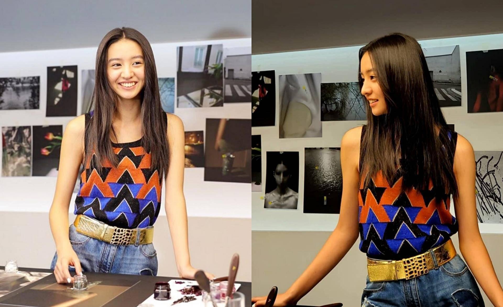宋茜木村光希合影  相差16岁的两大美女谁更胜一筹?