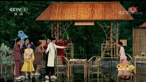 酸了吗?肖战舞台上表白谢娜 两人拥抱转圈圈