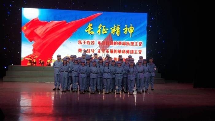 济南旅游学校参加济南市第十五届班级艺术联赛