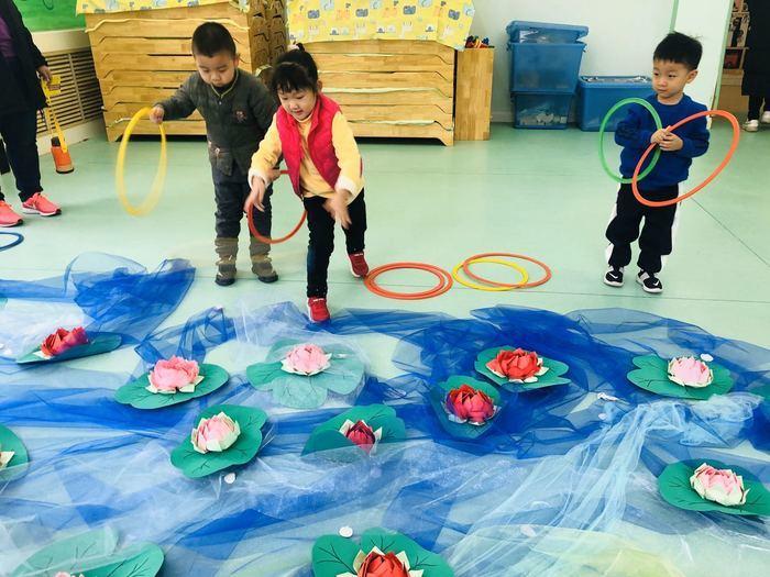 品八大名菜 玩特色游戏 给这个幼儿园的新年游园会点赞