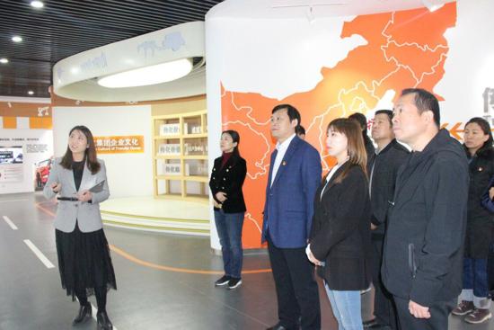 天桥区档案馆主动对接企业优化营商环境