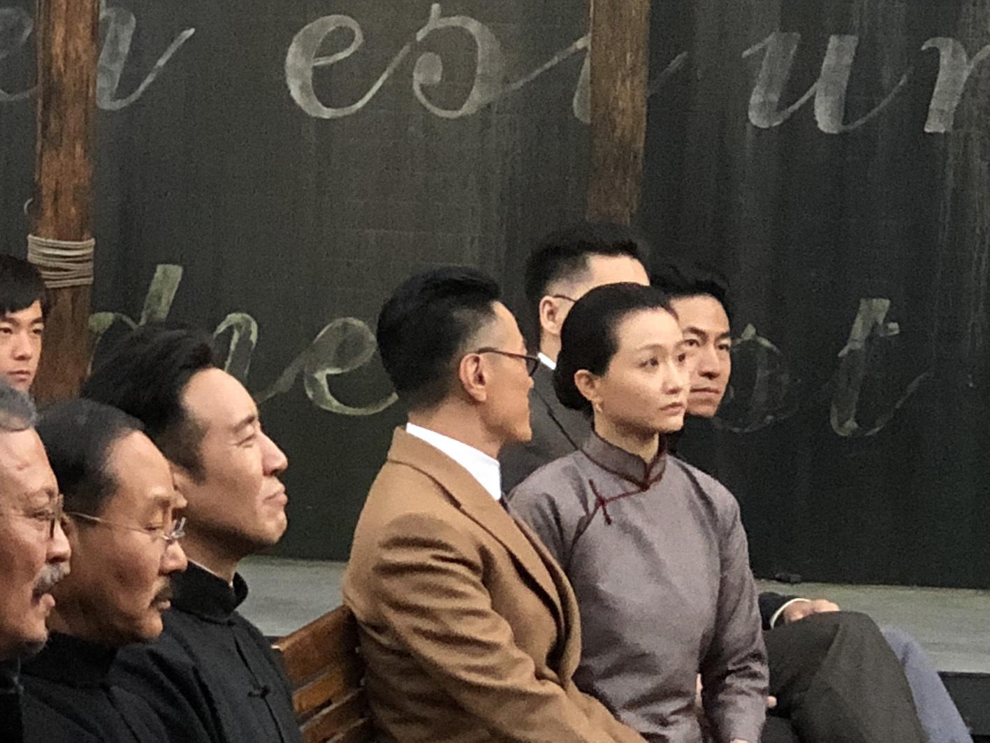 """胡适夫人造型曝光 武笑羽塑造""""民国大女人""""江冬秀"""