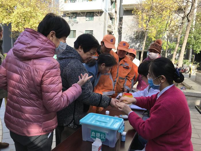 """济南市开展""""联合国糖尿病日""""宣传活动"""