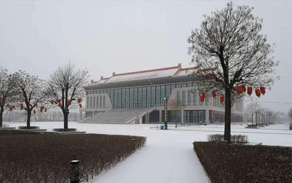 北京多地下雪 今冬以来范围最大、强度最强