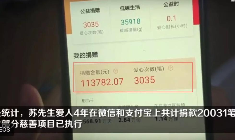 男子10年攒了55万血汗钱,没想到被妻子4年捐空!一分不剩