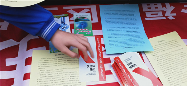 济南一中开展疾病防控宣传活动
