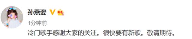 孙燕姿回应被叫冷门歌手 铁粉肖战发表情包回应