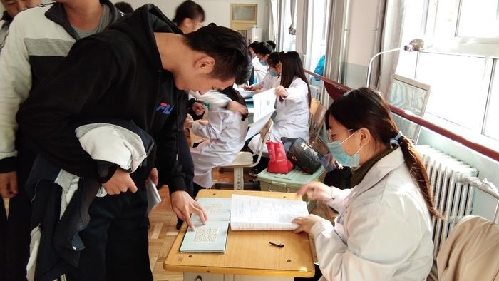 与健康相约 济南传媒学校为学生免费查体