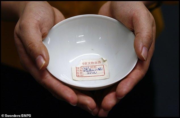 雍正御用?英国拍卖清朝茶碗 香港买家4万英镑购入