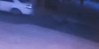 男子倒车碾死自己 视频监控拍下离奇过程