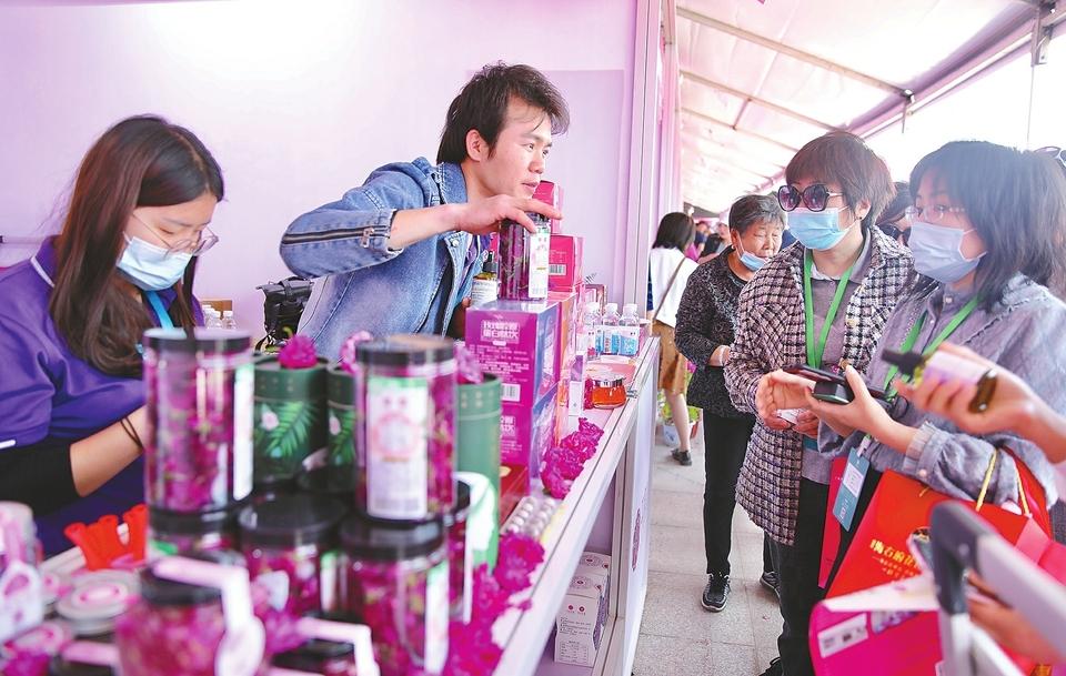玫瑰,从泉城广场走向世界舞台!——第三届玫瑰产品博览会开幕侧记