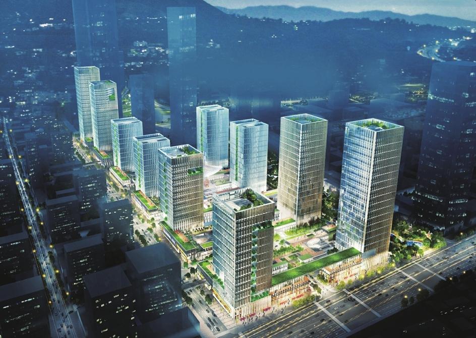 """济南人力资源""""猎场""""来了! 国际金融城又一核心园区正式封顶"""