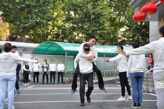 """庆祝""""国际盲人节""""济南市按摩医院举办趣味运动会"""
