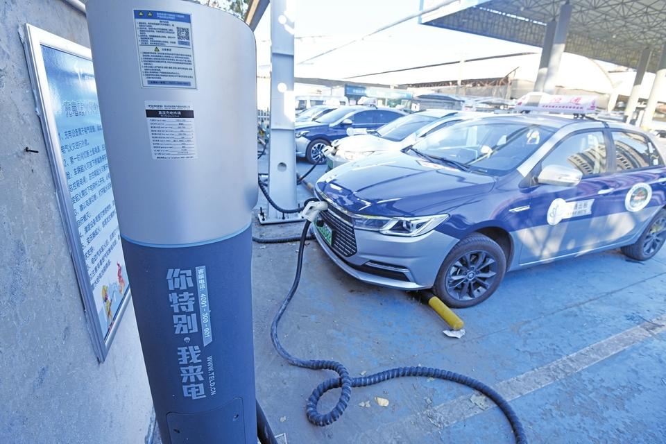 """济南新能源汽车充电桩""""地图""""有望明年上线:最近的充电桩在哪儿,车主一查便知"""