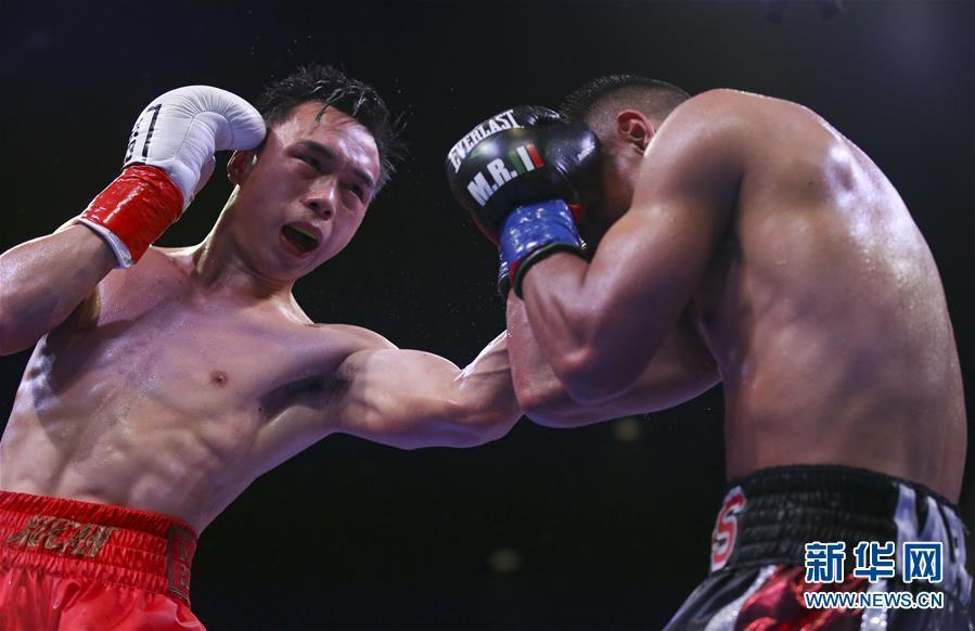 徐灿卫冕WBA羽量级世界拳王头衔