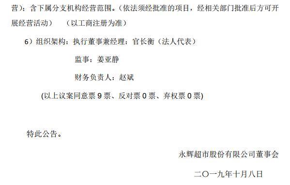 永辉超市发力山东市场 设立山东子公司 筹备落地济南和泰安