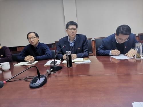 济南三中第三党支部召开民主生活会