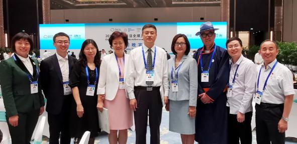 济南回民中学校长杨长寨受邀参加世界环境日全球主场活动