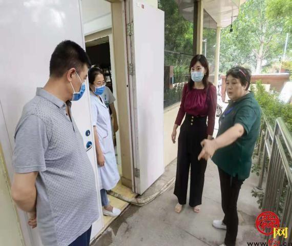 槐荫区卫生健康局指导社区卫生服务中心开展防汛应急演练
