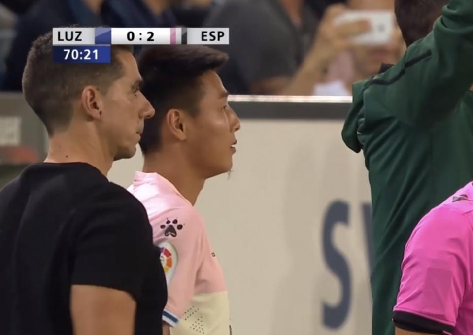 武磊替补出战!欧联杯西班牙人3-0客胜卢塞恩