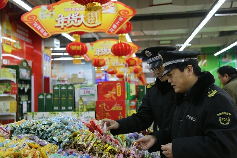 春节期间,山东省食品领域行政立案处罚52家