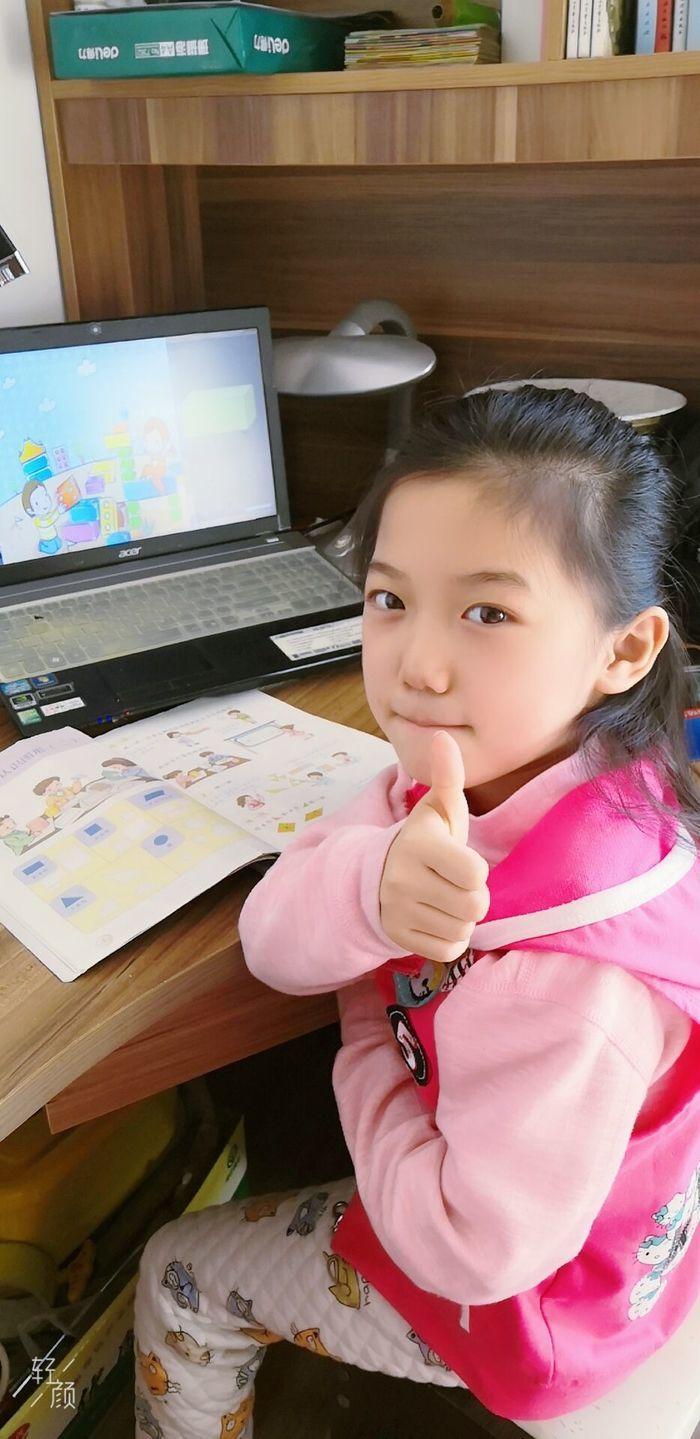 丰奥嘉园小学:空中课堂 架起家校战疫连心桥
