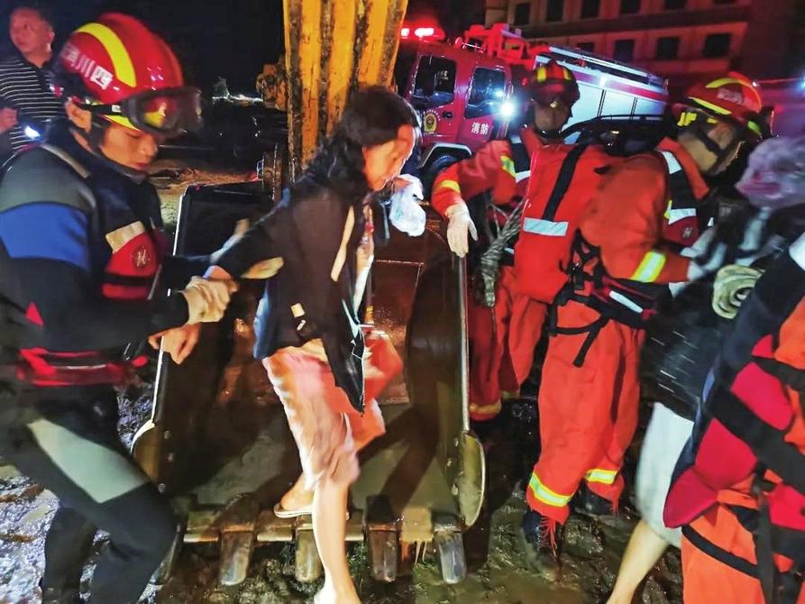 3人死亡、12人失联,四川冕宁遭遇特大暴雨